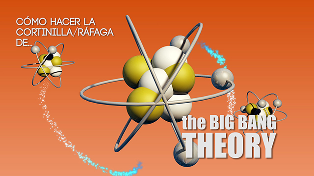 Tutorial After Effects y Cinema 4D 3ª Parte: cómo hacer la cortinilla de The Big Bang Theory
