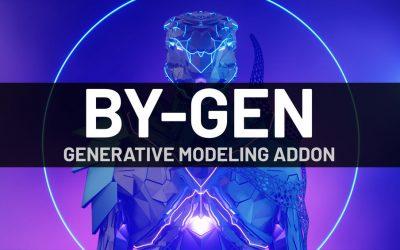 BY-GEN modelado generativo para Blender