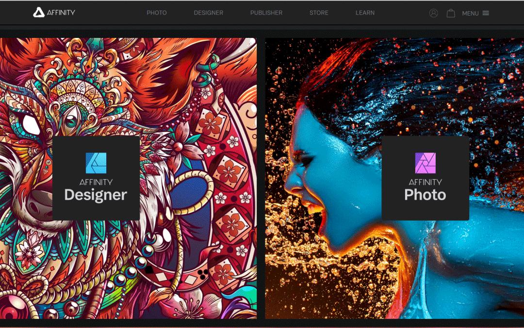 Affinity Photo y Designer 1.7